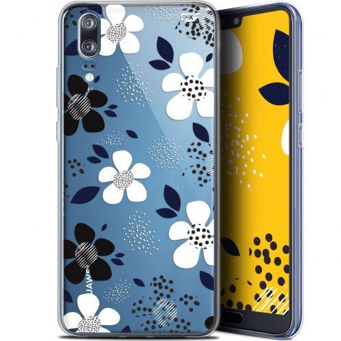 "Coque Gel Huawei P20 (5.8"") Extra Fine Motif -  Marimeko Style"