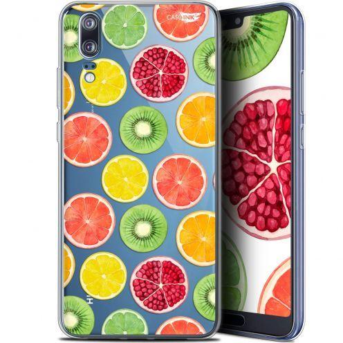 """Coque Gel Huawei P20 (5.8"""") Extra Fine Motif -  Fruity Fresh"""