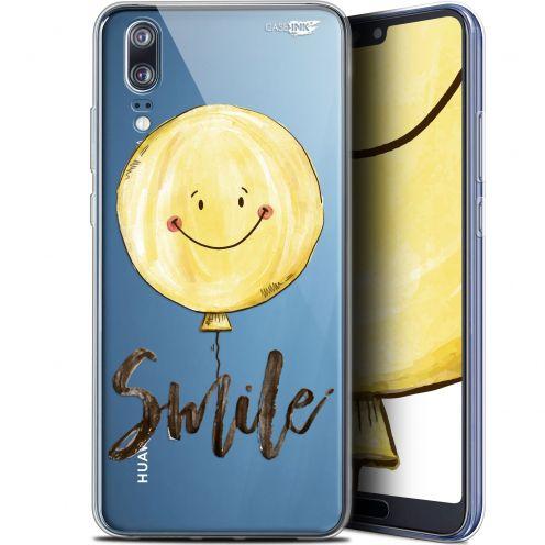 "Coque Gel Huawei P20 (5.8"") Extra Fine Motif -  Smile Baloon"