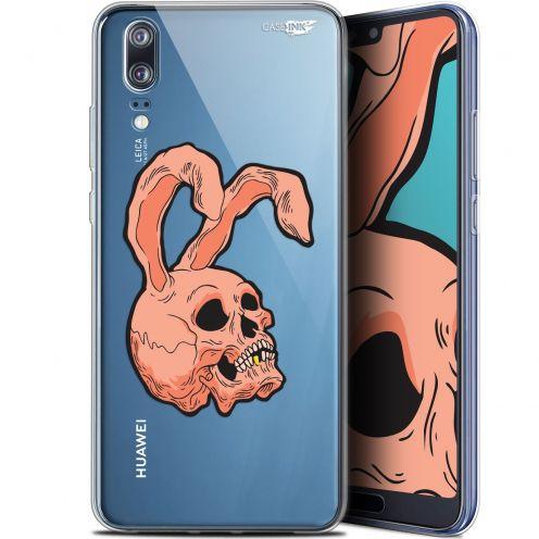 "Coque Gel Huawei P20 (5.8"") Extra Fine Motif -  Rabbit Skull"