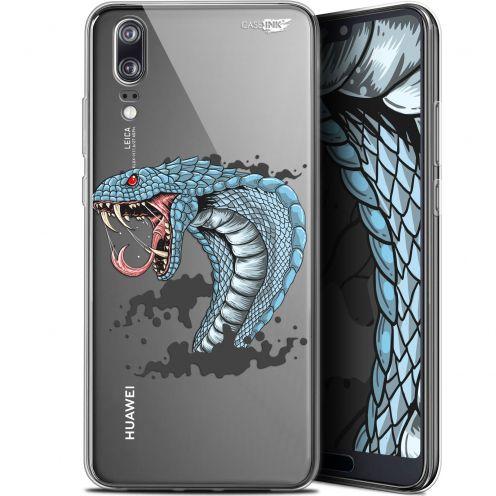 """Coque Gel Huawei P20 (5.8"""") Extra Fine Motif - Cobra Draw"""