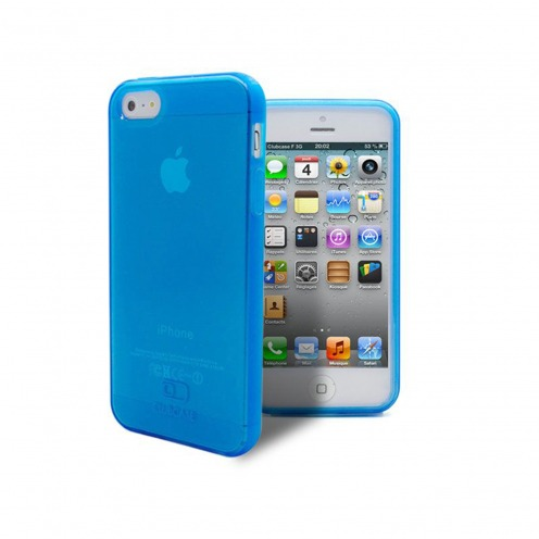 Coque iPhone 5 / 5S / SE Clubcase® Frozen Ice Bleue