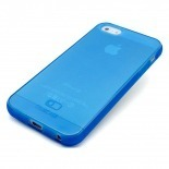 Photo réelle de Coque iPhone 5 Clubcase® Frozen Ice Bleue