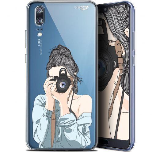"Coque Gel Huawei P20 (5.8"") Extra Fine Motif - La Photographe"