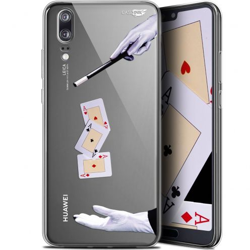 "Coque Gel Huawei P20 (5.8"") Extra Fine Motif - Cartes Magiques"
