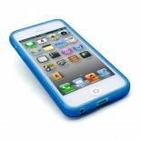 Vue portée de Coque iPhone 5 Clubcase® Frozen Ice Bleue