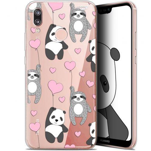 """Coque Gel Huawei P20 Lite (5.84"""") Extra Fine Motif - Panda'mour"""