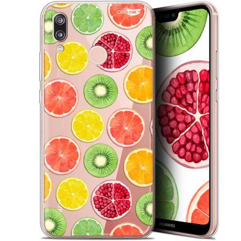 "Coque Gel Huawei P20 Lite (5.84"") Extra Fine Motif -  Fruity Fresh"