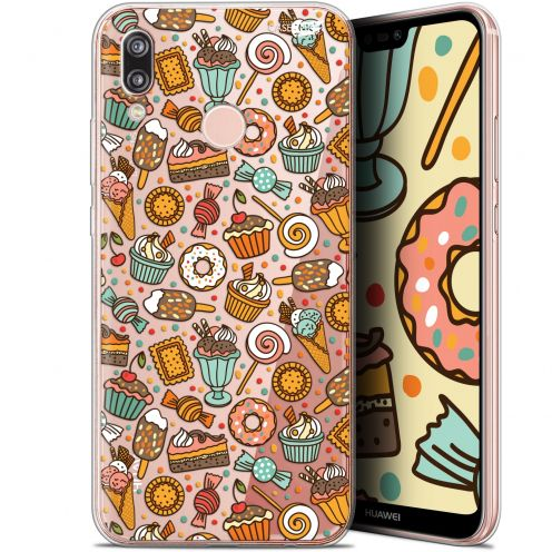 "Coque Gel Huawei P20 Lite (5.84"") Extra Fine Motif - Bonbons"