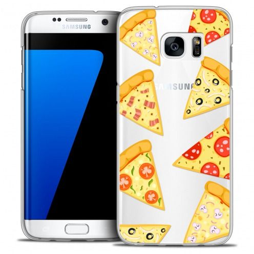 Coque Crystal Galaxy S7 Edge Extra Fine Foodie - Pizza