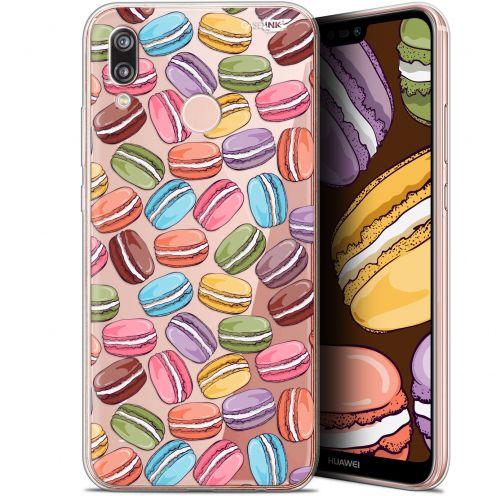 "Coque Gel Huawei P20 Lite (5.84"") Extra Fine Motif -  Macarons"