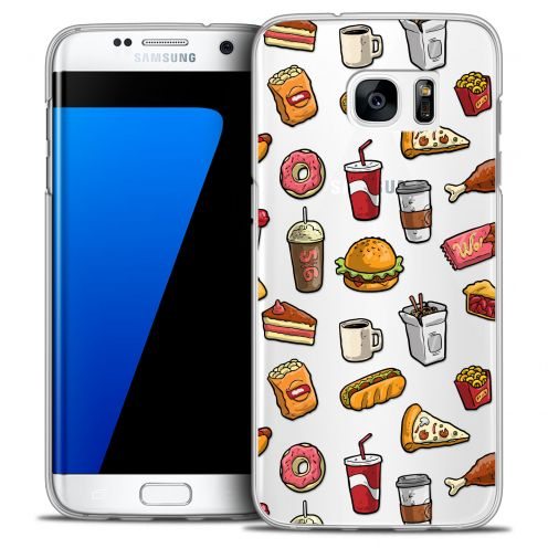Coque Crystal Galaxy S7 Edge Extra Fine Foodie - Fast Food