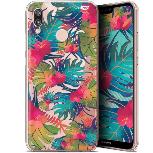 """Coque Gel Huawei P20 Lite (5.84"""") Extra Fine Motif -  Couleurs des Tropiques"""