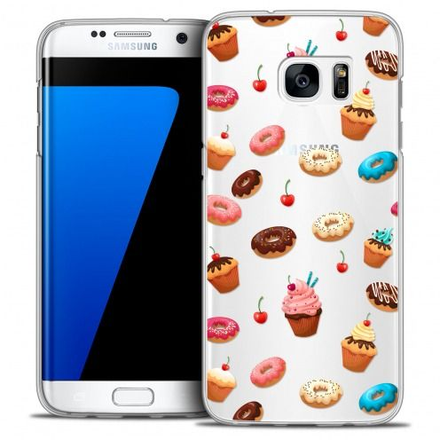 Coque Crystal Galaxy S7 Edge Extra Fine Foodie - Donuts