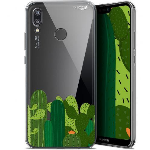 "Coque Gel Huawei P20 Lite (5.84"") Extra Fine Motif - Cactus"