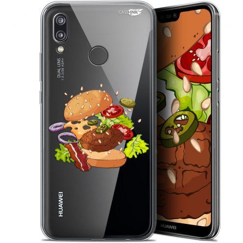 "Coque Gel Huawei P20 Lite (5.84"") Extra Fine Motif - Splash Burger"
