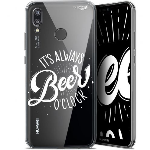 "Coque Gel Huawei P20 Lite (5.84"") Extra Fine Motif - Its Beer O'Clock"