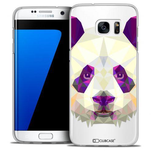 Coque Crystal Galaxy S7 Edge Extra Fine Polygon Animals - Panda