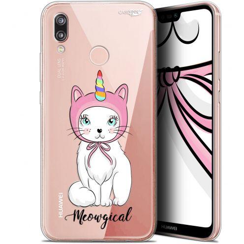 "Coque Gel Huawei P20 Lite (5.84"") Extra Fine Motif -  Ce Chat Est MEOUgical"