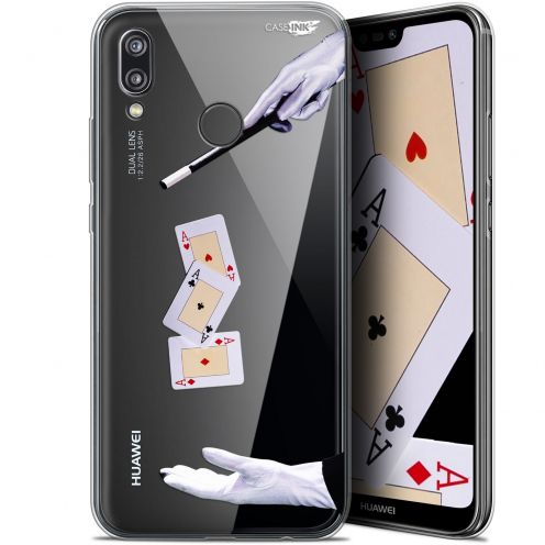 "Coque Gel Huawei P20 Lite (5.84"") Extra Fine Motif - Cartes Magiques"