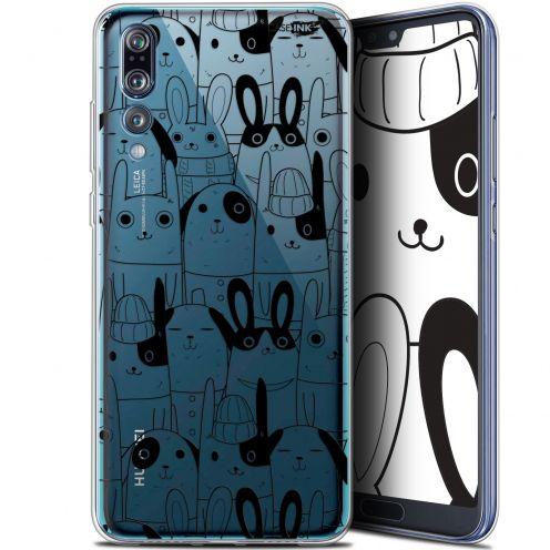 """Coque Gel Huawei P20 Pro (6.1"""") Extra Fine Motif - Lapin Noir"""