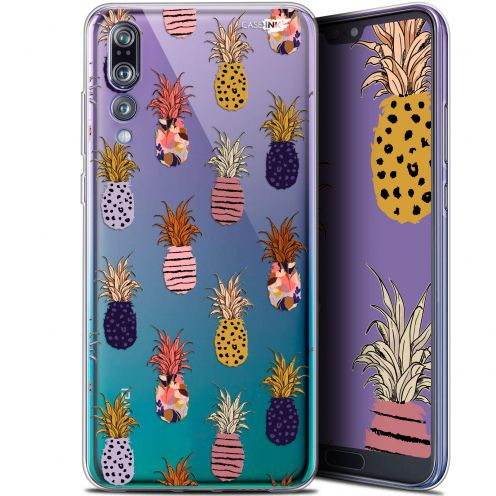 "Coque Gel Huawei P20 Pro (6.1"") Extra Fine Motif - Ananas Gold"