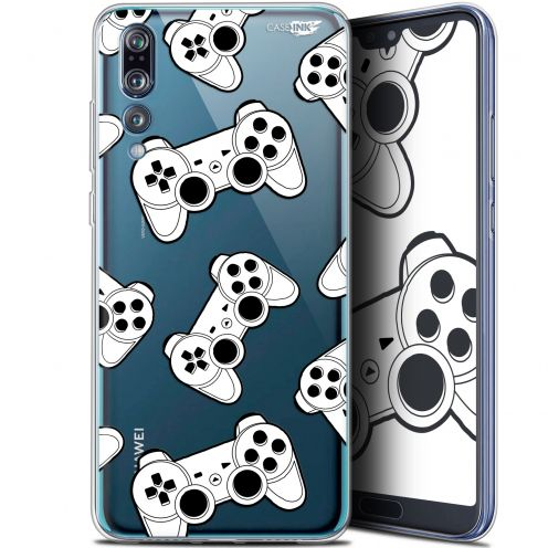 "Coque Gel Huawei P20 Pro (6.1"") Extra Fine Motif -  Game Play Joysticks"