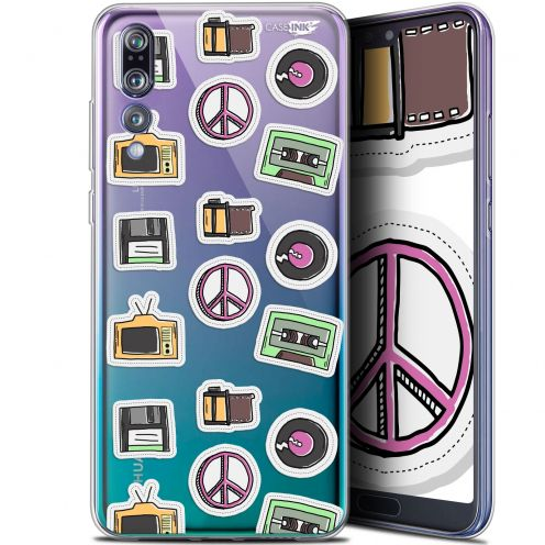 "Coque Gel Huawei P20 Pro (6.1"") Extra Fine Motif -  Vintage Stickers"