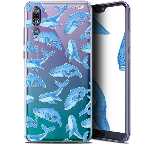 "Coque Gel Huawei P20 Pro (6.1"") Extra Fine Motif - Baleines"