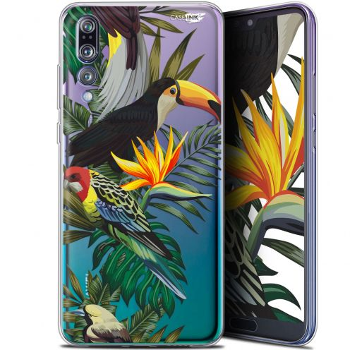 "Coque Gel Huawei P20 Pro (6.1"") Extra Fine Motif -  Toucan Tropical"