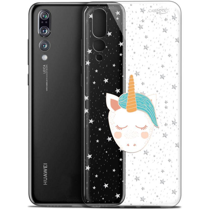 "Coque Gel Huawei P20 Pro (6.1"") Extra Fine Motif - Licorne Dors"