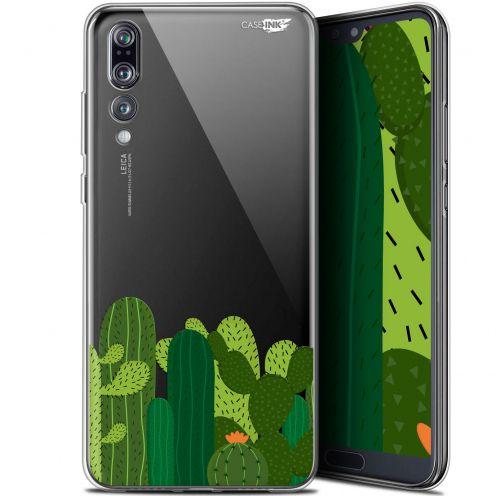 "Coque Gel Huawei P20 Pro (6.1"") Extra Fine Motif - Cactus"