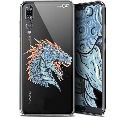 "Coque Gel Huawei P20 Pro (6.1"") Extra Fine Motif -  Dragon Draw"
