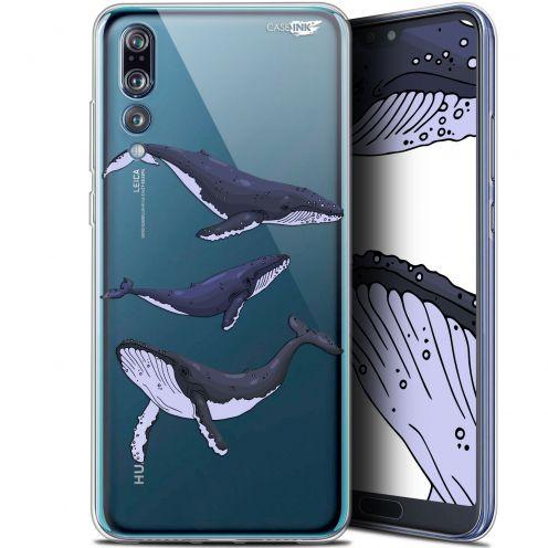 "Coque Gel Huawei P20 Pro (6.1"") Extra Fine Motif - Les 3 Baleines"