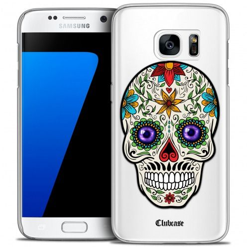 Coque Crystal Galaxy S7 Extra Fine Skull - Maria's Flower