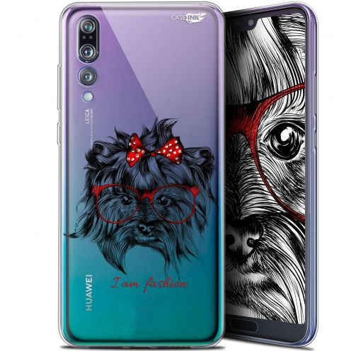 "Coque Gel Huawei P20 Pro (6.1"") Extra Fine Motif -  Fashion Dog"