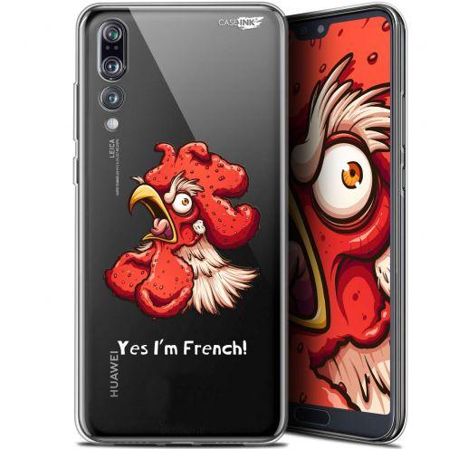 """Coque Gel Huawei P20 Pro (6.1"""") Extra Fine Motif - I'm French Coq"""