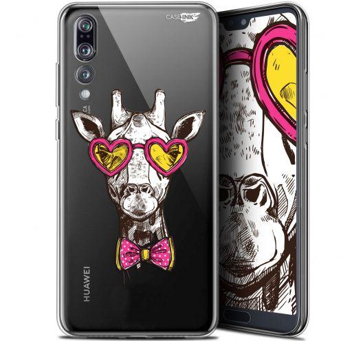"Coque Gel Huawei P20 Pro (6.1"") Extra Fine Motif - Hipster Giraffe"