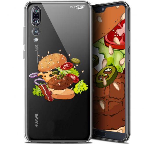 "Coque Gel Huawei P20 Pro (6.1"") Extra Fine Motif - Splash Burger"