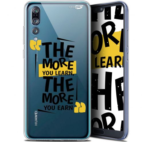 "Coque Gel Huawei P20 Pro (6.1"") Extra Fine Motif -  The More You Learn"