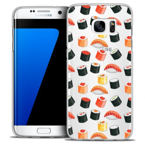 Coque Crystal Galaxy S7 Edge Extra Fine Foodie - Sushi