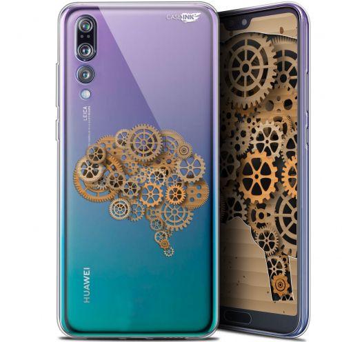 """Coque Gel Huawei P20 Pro (6.1"""") Extra Fine Motif - Mécanismes du Cerveau"""