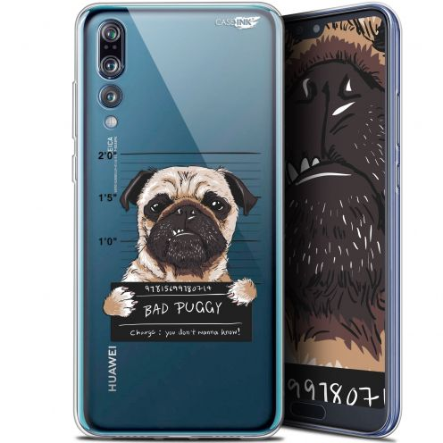 "Coque Gel Huawei P20 Pro (6.1"") Extra Fine Motif - Beware The Puggy Dog"