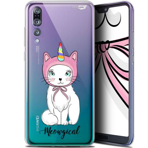 "Coque Gel Huawei P20 Pro (6.1"") Extra Fine Motif -  Ce Chat Est MEOUgical"
