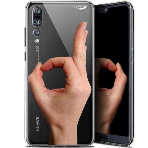 """Coque Gel Huawei P20 Pro (6.1"""") Extra Fine Motif - Le Jeu du Rond"""