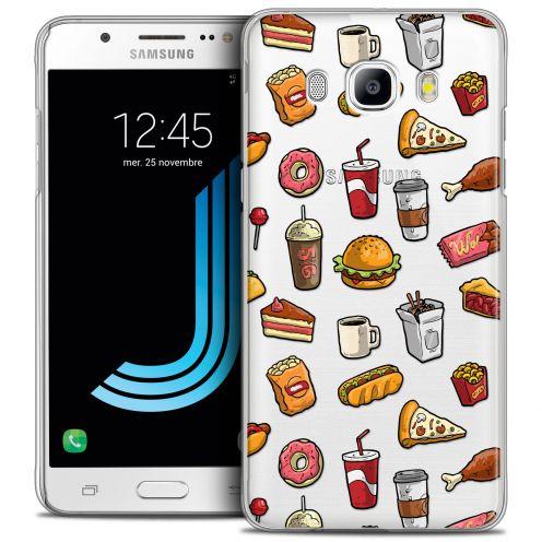 Coque Crystal Galaxy J5 2016 (J510) Extra Fine Foodie - Fast Food
