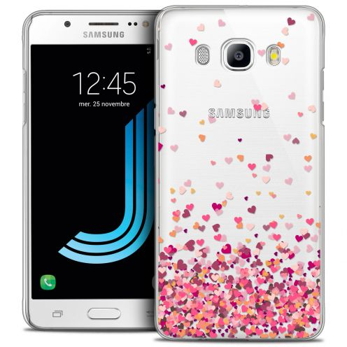 Coque Crystal Galaxy J5 2016 (J510) Extra Fine Sweetie - Heart Flakes