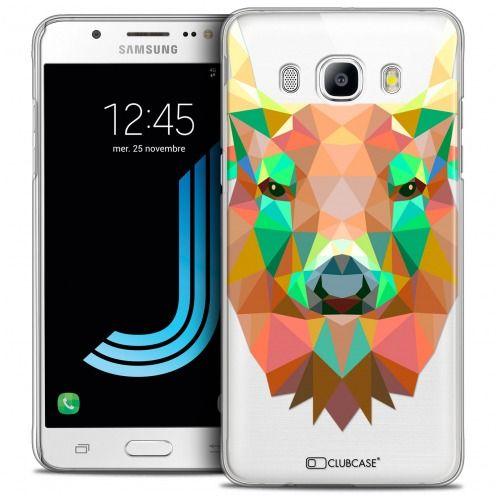 Coque Crystal Galaxy J5 2016 (J510) Extra Fine Polygon Animals - Cerf