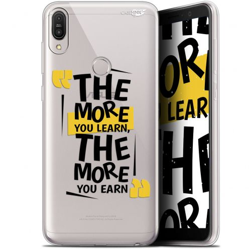 """Coque Gel Asus Zenfone Max Pro (M1) ZB601KL/602KL (6"""") Extra Fine Motif -  The More You Learn"""