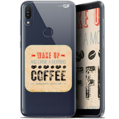 """Coque Gel Asus Zenfone Max Pro (M1) ZB601KL/602KL (6"""") Extra Fine Motif -  Wake Up With Coffee"""